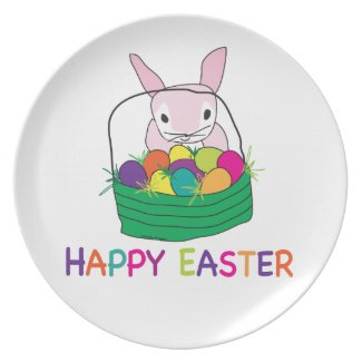 Happy Easter Dinner Plates