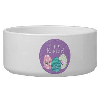 Happy Easter Dog Food Bowl