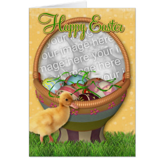 Happy Easter Duckling Card