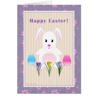 Happy Easter - Easter Bunny - For Child Card