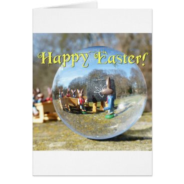 Beach Themed Happy Easter! Easter Bunny school 02.0.T Card