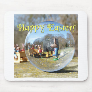 Happy Easter! Easter Bunny school 02.0.T Mouse Pad