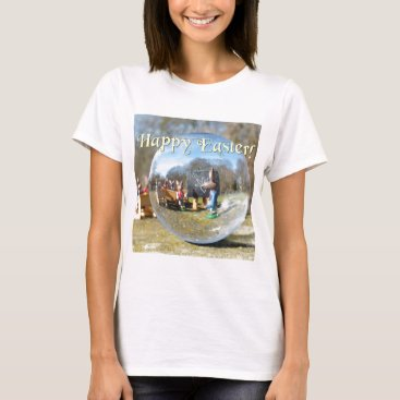 Beach Themed Happy Easter! Easter Bunny school 02.0.T T-Shirt