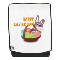 Happy Easter Easter Day Backpack