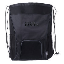Happy Easter Easter Day Drawstring Backpack