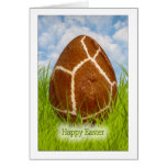 Happy Easter - Easter Egg -  Giraffe Skin Photo Stationery Note Card