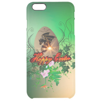 Happy easter, easter egg with funny dragon uncommon clearly™ deflector iPhone 6 plus case