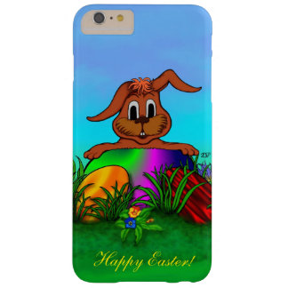 Happy Easter! Easter Rabbit Barely There iPhone 6 Plus Case