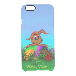 Happy Easter! Easter Rabbit Clear iPhone 6/6S Case