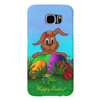 Happy Easter! Easter Rabbit Samsung Galaxy S6 Case