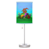 Happy Easter! Easter Rabbit Table Lamp