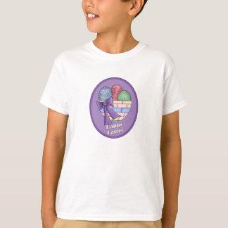 Happy Easter Egg Basket T-Shirt