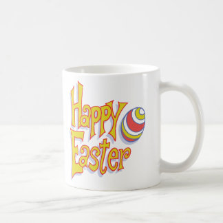 Happy Easter Egg Classic White Coffee Mug