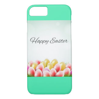 Happy Easter Egg Design iPhone 7 Case
