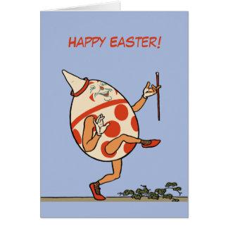 Happy Easter Egg Humpty Dumpty custom Card
