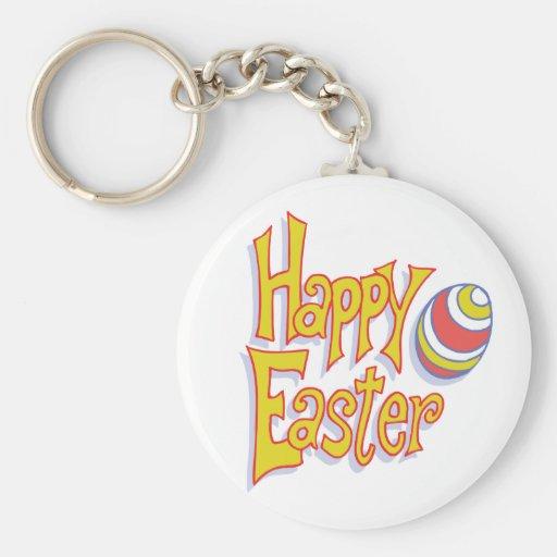 Happy Easter Egg Key Chain
