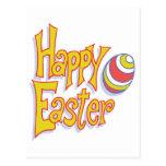 Happy Easter Egg Postcard