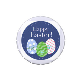 Happy Easter Eggs Candy Tins