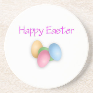 Happy Easter Eggs Coaster