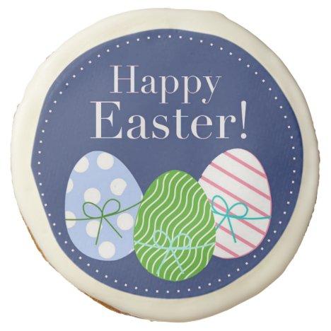 Happy Easter Eggs Cookie