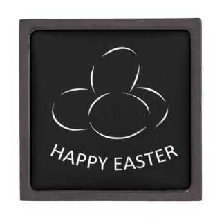 Happy Easter Eggs Keepsake Box