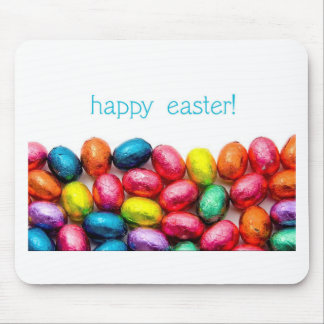 Happy Easter Eggs Mouse Pad