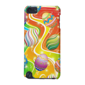 Happy Easter Eggs Ornamental Design iPod Touch 5G Cover