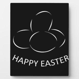 Happy Easter Eggs Plaque