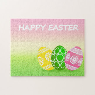 Happy Easter Eggs Puzzle