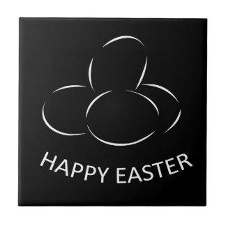Happy Easter Eggs Tile