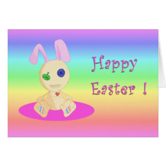 Happy Easter feat Lil Cushy Card