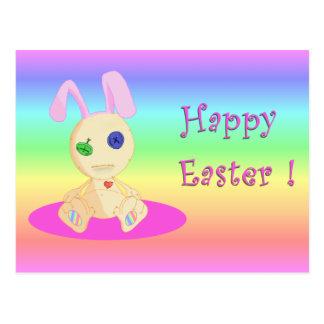 Happy Easter feat Lil Cushy Postcard