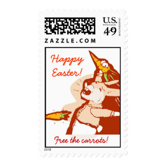 Happy Easter (Free the carrots!) Stamps