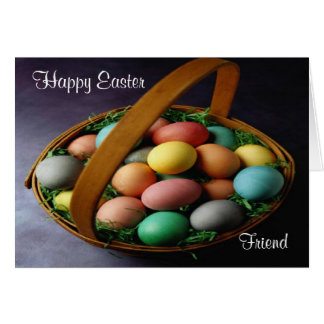 Happy Easter Friend Card