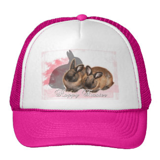 Happy Easter from 2 Easter Bunnies Trucker Hat