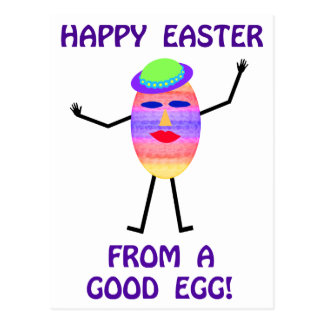 Happy Easter From A Good Egg Shirts & Gifts Postcard
