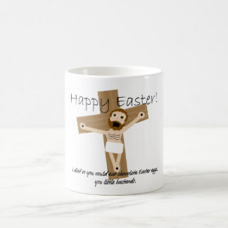 Happy Easter from Angry Jesus Coffee Mug