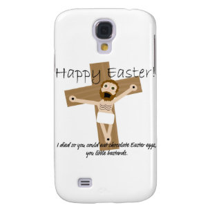 Happy Easter from Angry Jesus Samsung S4 Case