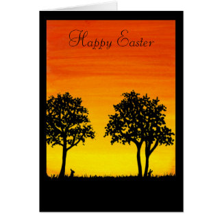 Happy Easter From our Neck of the Woods by Bihrle Card
