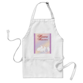 Happy Easter from the Easter Bunnies Adult Apron