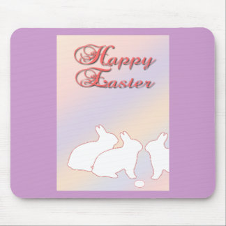 Happy Easter from the Easter Bunnies Mouse Pad