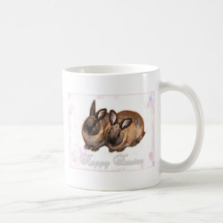 Happy Easter from The Easter Bunny With Roses Coffee Mug