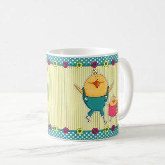 Happy Easter. Funny Easter Chicks Gift Mug