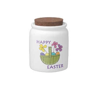Happy Easter Gift Ideas Candy Dishes