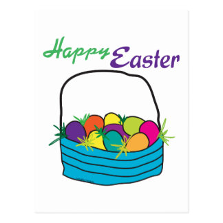 Happy Easter Giftware Postcard