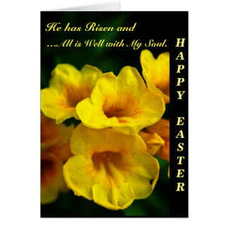 Happy Easter - Ginger Thomas Flower Note Card
