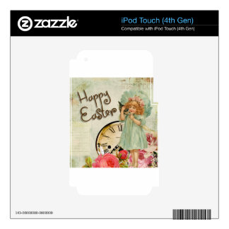 happy easter girl decals for iPod touch 4G