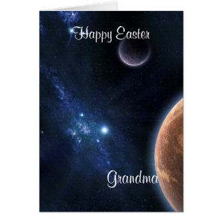 Happy Easter Grand Mother Card