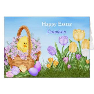 Happy Easter Grandson Card