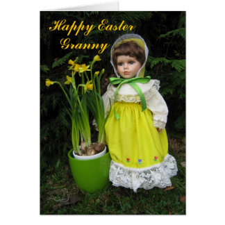 Happy Easter Granny Greeting Card